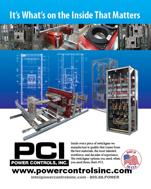 ROMAC's June Print Ad - It's What's on the Inside That Matters. Switchgear Inside.